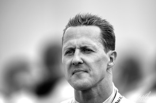 Schumacher in B&W